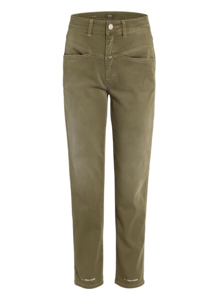 CLOSED Mom Jeans PEDAL PUSHER, Farbe: 652 green umber (Bild 1)