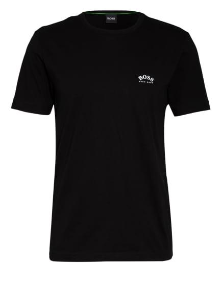 BOSS T-Shirt CURVED, Farbe: SCHWARZ (Bild 1)