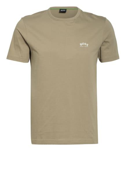 BOSS T-Shirt CURVED, Farbe: OLIV (Bild 1)