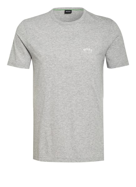 BOSS T-Shirt CURVED, Farbe: HELLGRAU (Bild 1)
