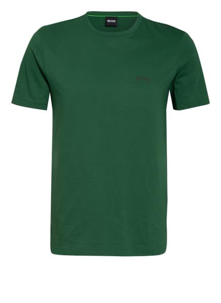 BOSS T-Shirt CURVED, Farbe: GRÜN (Bild 1)