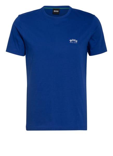 BOSS T-Shirt CURVED, Farbe: BLAU (Bild 1)