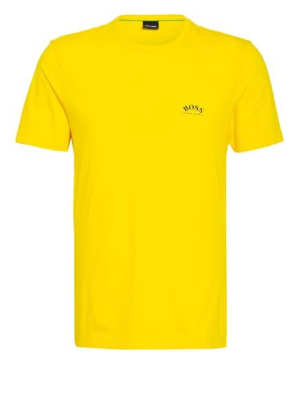 BOSS T-Shirt CURVED, Farbe: GELB (Bild 1)
