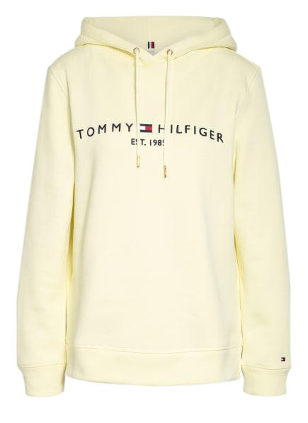 TOMMY HILFIGER Hoodie ESSENTIAL, Farbe: HELLGELB (Bild 1)