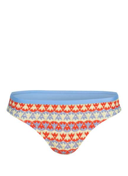 ANDRES SARDA Bikini-Hose IMAGINE, Farbe: HELLBLAU/ DUNKELORANGE/ HELLGRÜN (Bild 1)