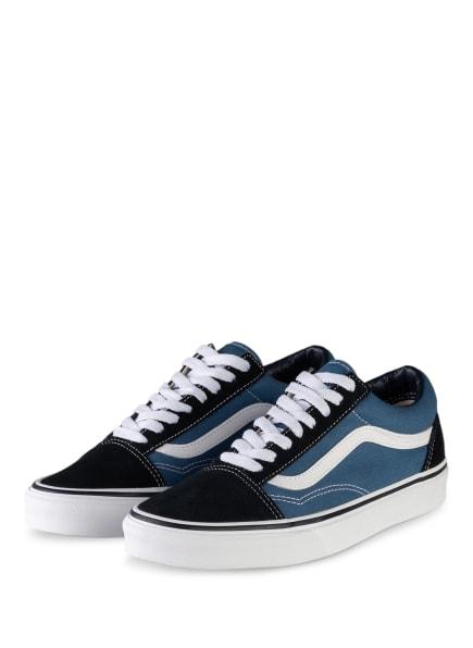 VANS Sneaker OLD SKOOL, Farbe: BLAU/ WEISS/ DUNKELBLAU (Bild 1)