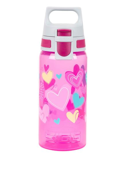SIGG Trinkflasche VIVA ONE, Farbe: PINK/ HELLGRAU/ TÜRKIS (Bild 1)
