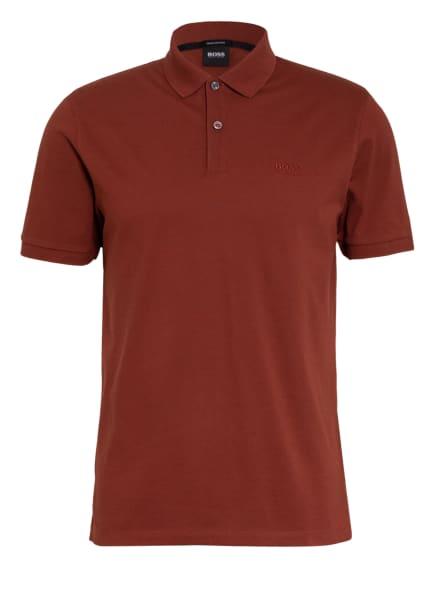 BOSS Piqué-Poloshirt PALLAS Regular Fit, Farbe: BRAUN (Bild 1)