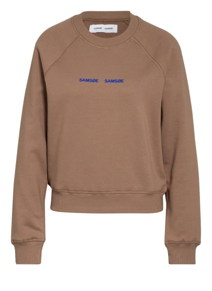 SAMSØE  SAMSØE Sweatshirt BARLETTA , Farbe: BRAUN (Bild 1)