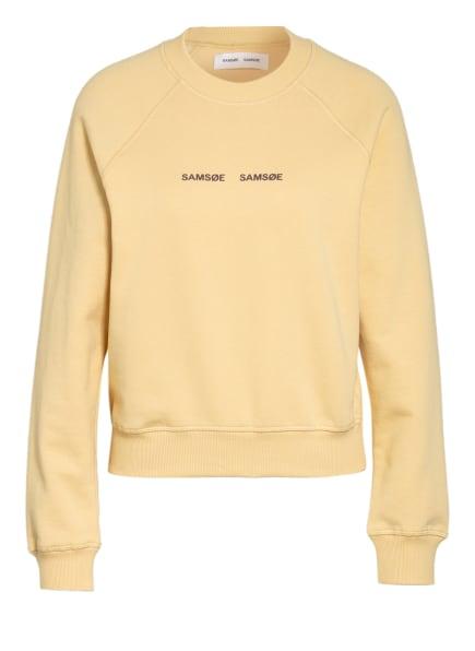 SAMSØE  SAMSØE Sweatshirt BARLETTA , Farbe: HELLGELB (Bild 1)