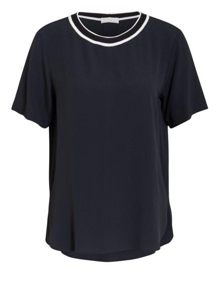 ANTONELLI firenze Blusenshirt BAMBU mit Seide, Farbe: DUNKELBLAU/ SCHWARZ/ CREME (Bild 1)