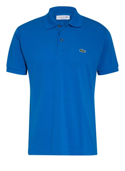 LACOSTE Piqué-Poloshirt Classic Fit, Farbe: BLAU (Bild 1)