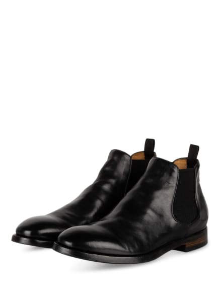 OFFICINE CREATIVE Chelsea-Boots EMORY 12, Farbe: SCHWARZ (Bild 1)