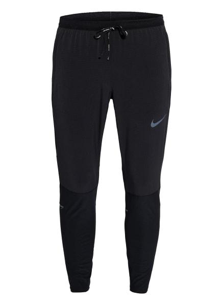 Nike Laufhose SWIFT mit Mesh-Einsätzen, Farbe: SCHWARZ (Bild 1)