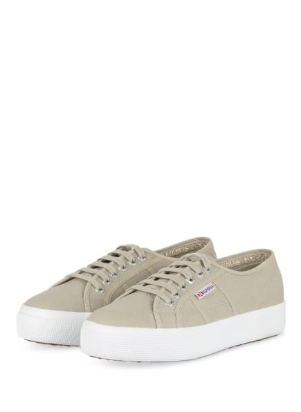 SUPERGA Sneaker 2730 COTU, Farbe: OLIV (Bild 1)