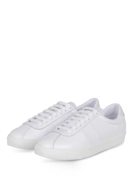SUPERGA Sneaker 2843, Farbe: WEISS/ HELLGRAU (Bild 1)
