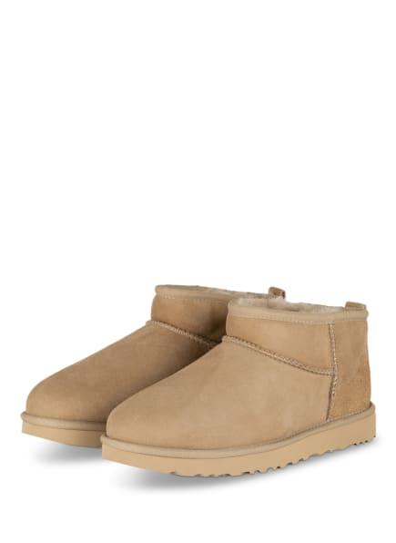 UGG Boots CLASSIC ULTRA MINI, Farbe: BEIGE (Bild 1)