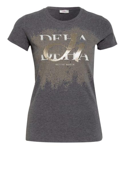 DEHA T-Shirt, Farbe: DUNKELGRAU/ GOLD (Bild 1)
