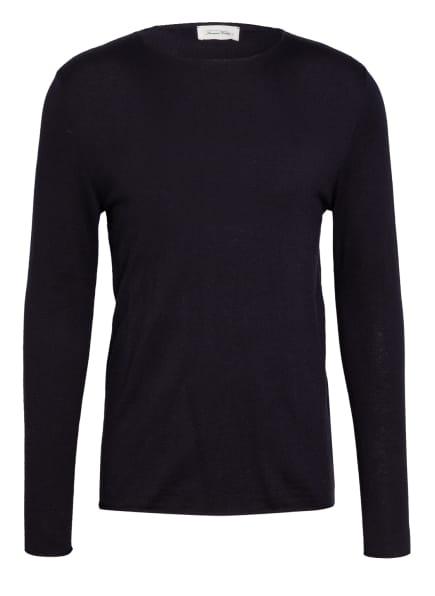 American Vintage Pullover MARCEL, Farbe: DUNKELBLAU (Bild 1)