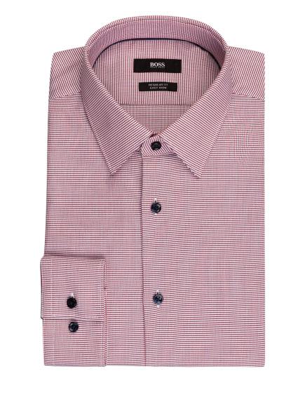 BOSS Hemd GANOS Regular Fit, Farbe: WEISS/ DUNKELROT/ DUNKELBLAU (Bild 1)