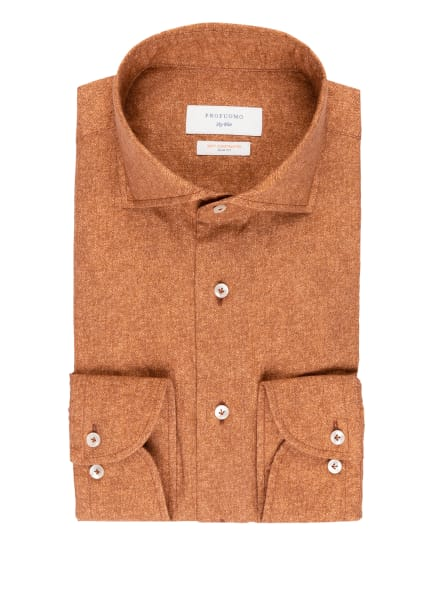 PROFUOMO Hemd Slim Fit, Farbe: DUNKELORANGE (Bild 1)