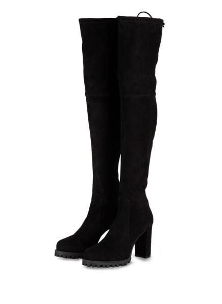 STUART WEITZMAN Overknee-Stiefel ZOELLA , Farbe: SCHWARZ (Bild 1)