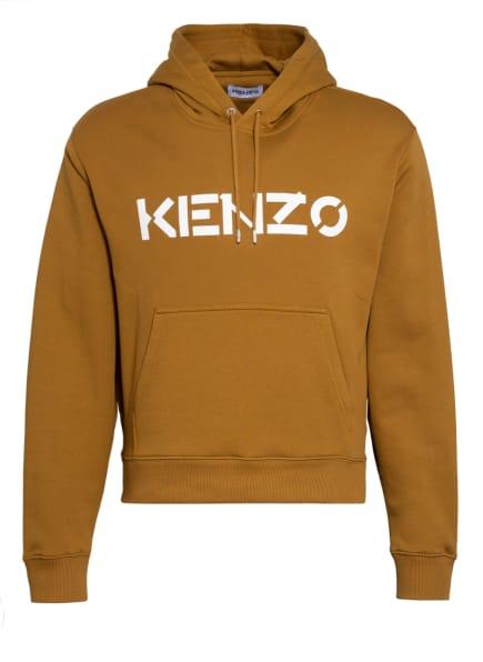 KENZO Hoodie, Farbe: CAMEL/ WEISS (Bild 1)