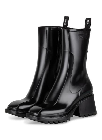 Chloé Gummi-Boots BETTY, Farbe: 001 BLACK (Bild 1)