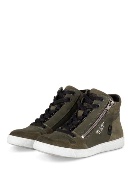 BULLBOXER Hightop-Sneaker, Farbe: OLIV (Bild 1)
