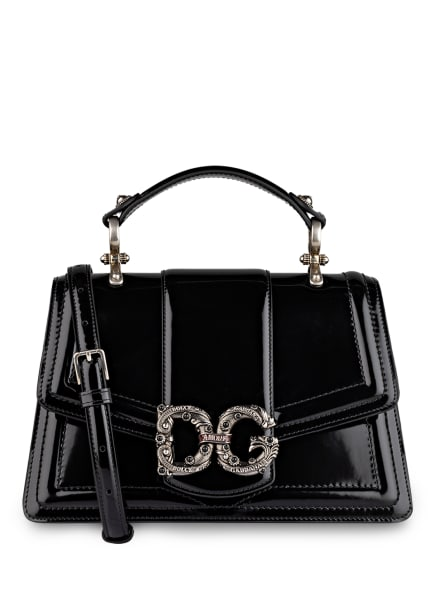 DOLCE&GABBANA Handtasche AMORE MEDIUM, Farbe: SCHWARZ (Bild 1)