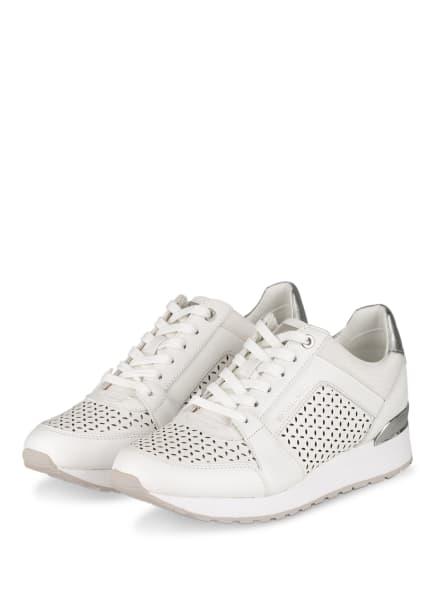 MICHAEL KORS Plateau-Sneaker BILLIE TRAINER, Farbe: 085 OPTIC WHITE (Bild 1)