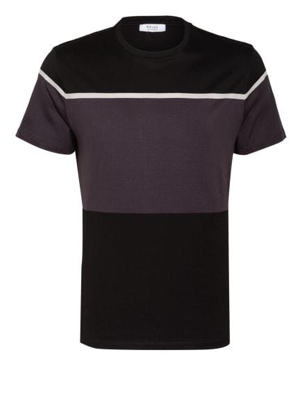 REISS T-Shirt BLOCK, Farbe: DUNKELGRAU/ SCHWARZ/ WEISS (Bild 1)