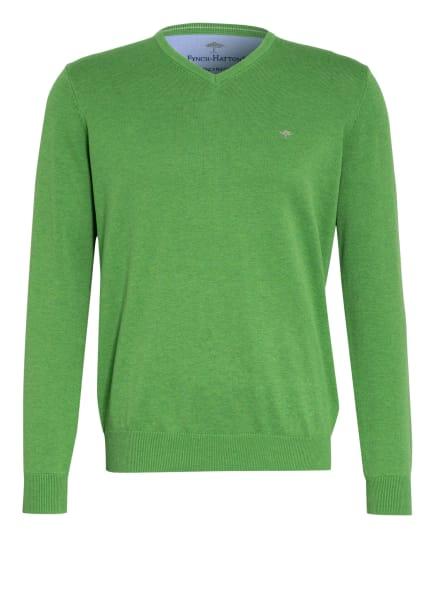 FYNCH-HATTON Pullover, Farbe: GRÜN (Bild 1)