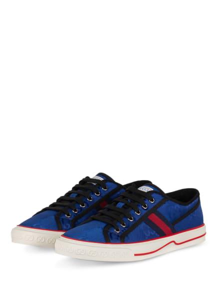 GUCCI Sneaker OFF THE GRID , Farbe: DUNKELBLAU/ ROT (Bild 1)