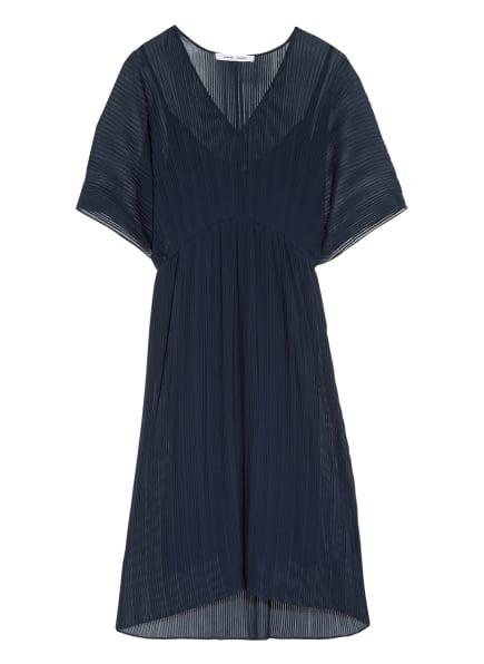 SAMSØE  SAMSØE Plissee-Kleid ANDINE, Farbe: DUNKELBLAU (Bild 1)