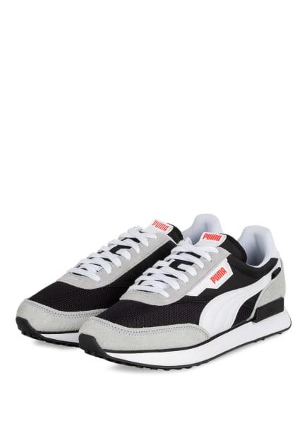 PUMA Sneaker FUTURE RIDER VINTAGE , Farbe: HELLGRAU/ SCHWARZ (Bild 1)