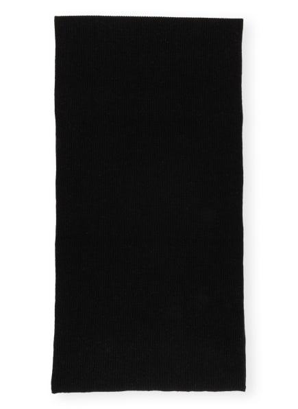 GANNI Schal, Farbe: SCHWARZ (Bild 1)