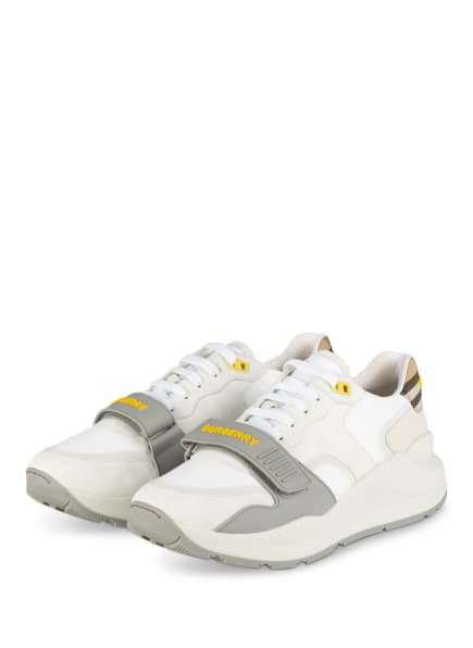 BURBERRY Sneaker , Farbe: WEISS/ GRAU (Bild 1)