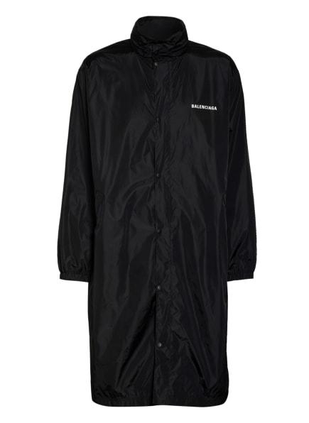 BALENCIAGA Oversized-Regenmantel , Farbe: SCHWARZ/ WEISS (Bild 1)