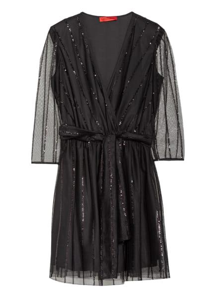 MAX & Co. Kleid PRELUDIO mit 3/4-Arm und Paillettenbesatz, Farbe: SCHWARZ (Bild 1)
