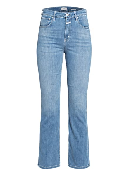 CLOSED 7/8-Flared Jeans , Farbe: MBL MID BLUE (Bild 1)