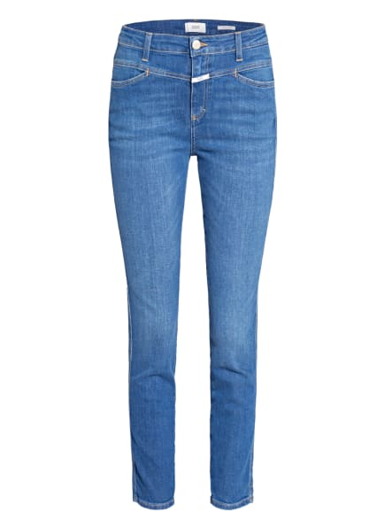 CLOSED Jeans SKINNY PUSHER, Farbe: MBL MID BLUE (Bild 1)