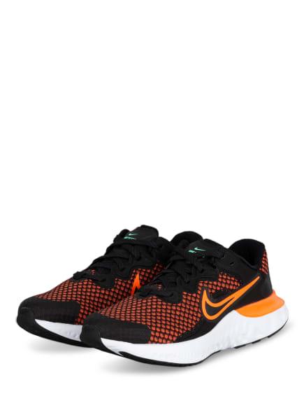 Nike Laufschuhe RENEW RUN 2, Farbe: SCHWARZ/ LACHS (Bild 1)