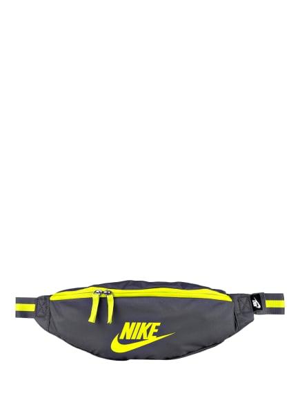 Nike Gürteltasche HERITAGE, Farbe: DUNKELGRAU/ NEONGRÜN (Bild 1)
