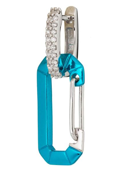 EÉRA Ohrring CHIARA SMALL, Farbe: SILBER/ BLAU (Bild 1)