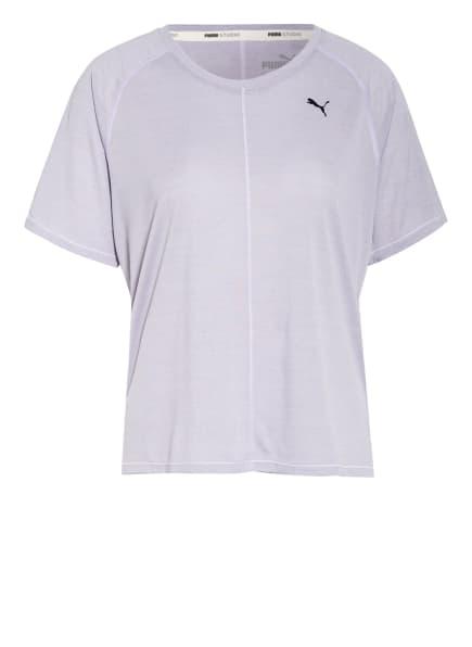 PUMA T-Shirt STUDIO, Farbe: HELLLILA (Bild 1)