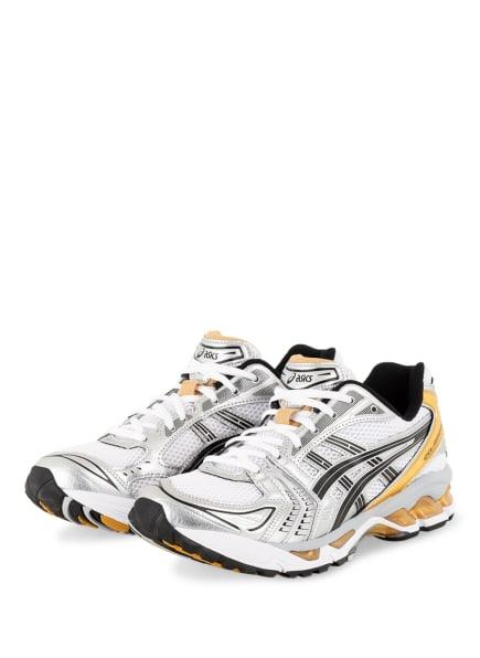 ASICS Sneaker GEL-KAYANO™ 14, Farbe: WEISS/ SCHWARZ/ GOLD (Bild 1)