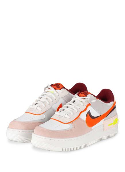 Nike Sneaker AIR FORCE 1, Farbe: HELLROSA/ WEISS/ ORANGE (Bild 1)