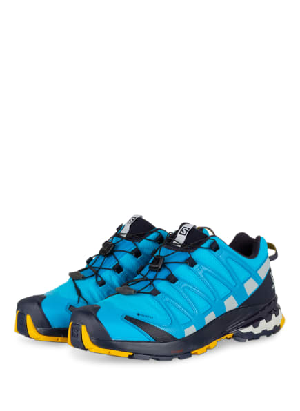 SALOMON Trailrunning-Schuhe XA PRO 3D V8 GTX, Farbe: TÜRKIS (Bild 1)