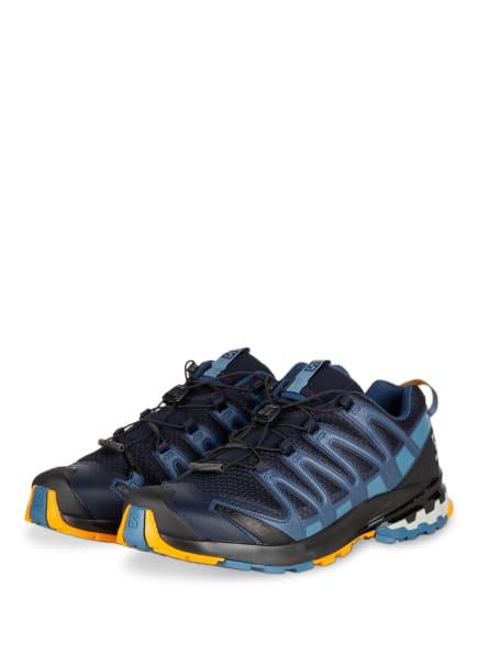 SALOMON Trailrunning-Schuhe XA PRO 3D V8, Farbe: DUNKELBLAU/ SCHWARZ/ HELLBLAU (Bild 1)